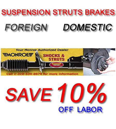 Automotive Car Repair Mechanic Service In Torrance Los